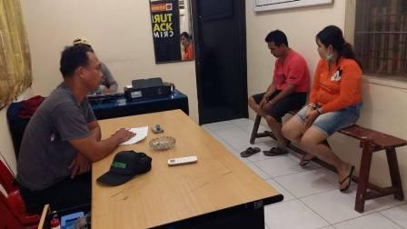 Polsek Tanjung Balai Utara Amankan Sepasang Warga Tionghoa Miliki Sabu
